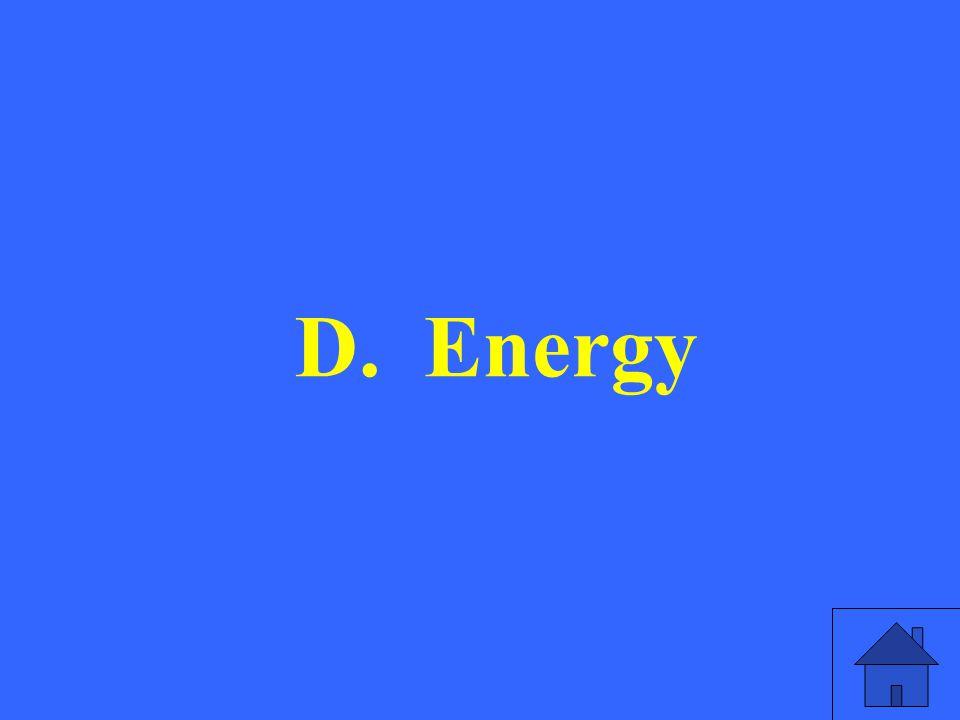 D. Energy