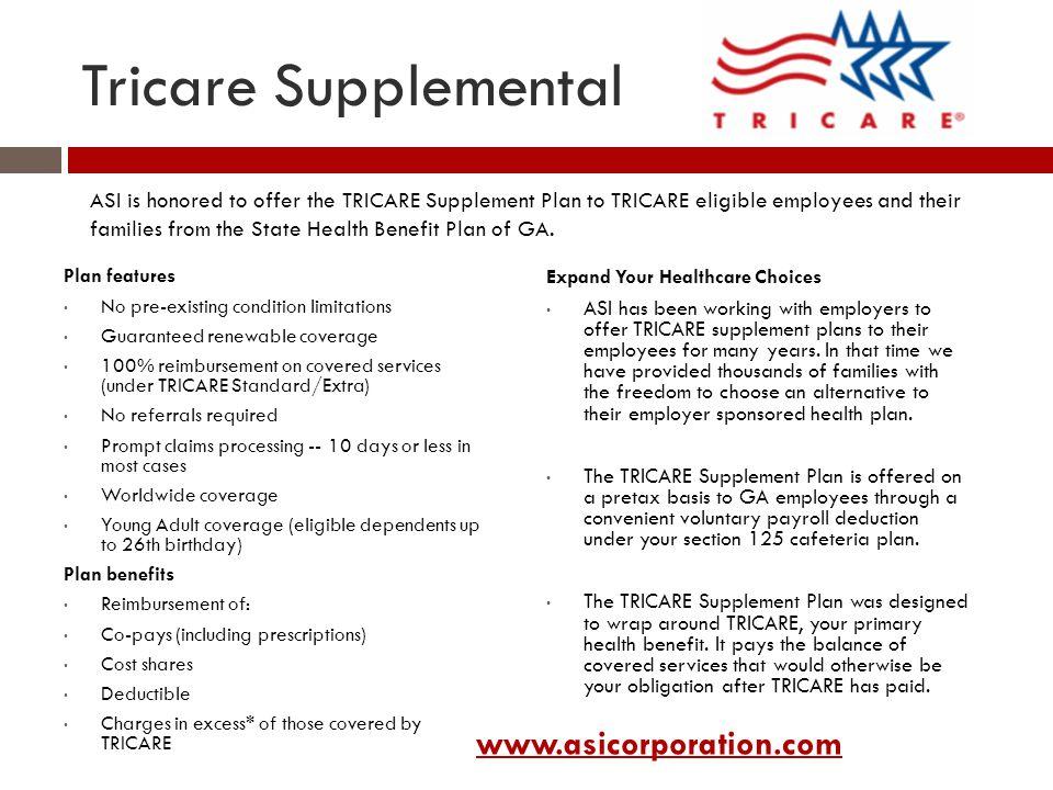tricare health plans