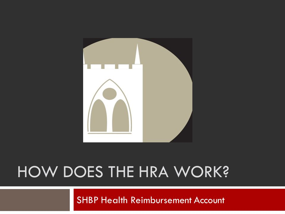 SHBP Health Reimbursement Account