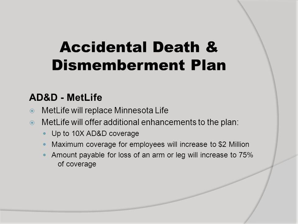 Accidental Death & Dismemberment Plan