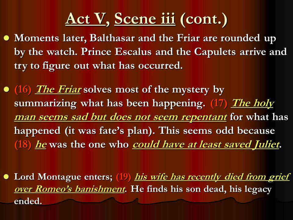Act V, Scene iii (cont.)