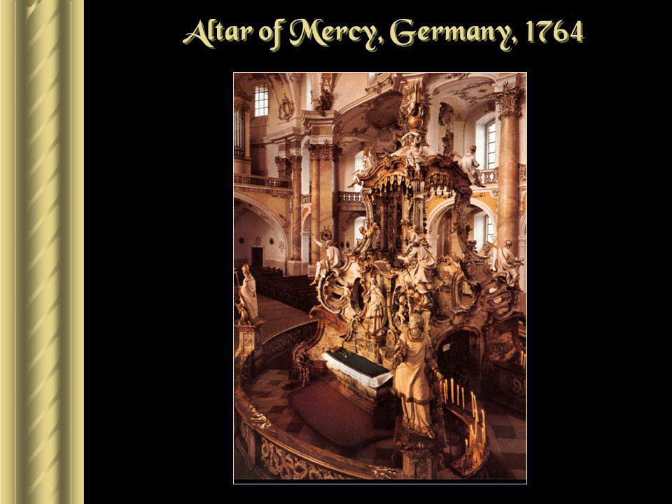 Altar of Mercy, Germany, 1764
