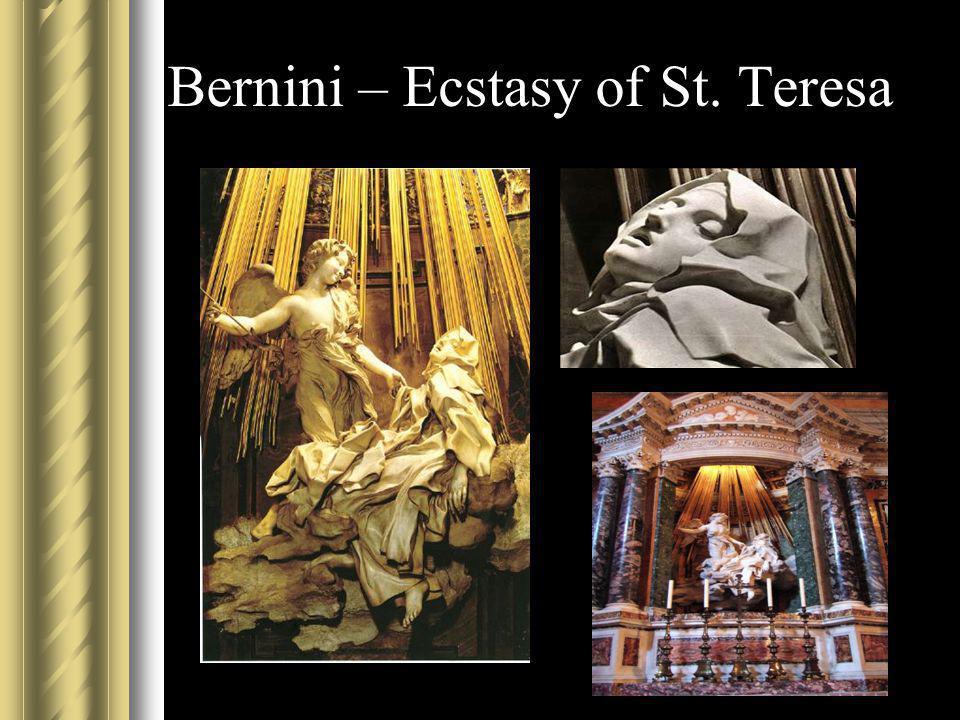 Bernini – Ecstasy of St. Teresa