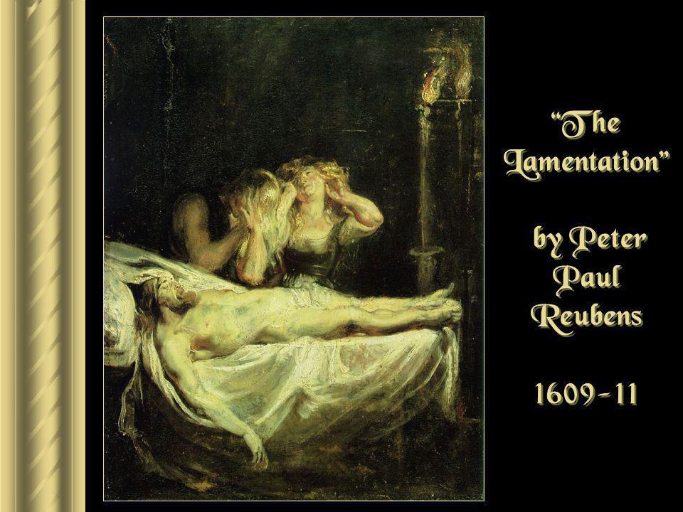 The Lamentation by Peter Paul Reubens 1609-11