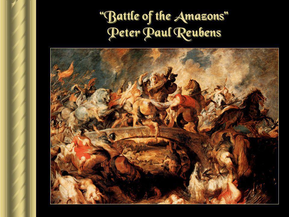 Battle of the Amazons Peter Paul Reubens