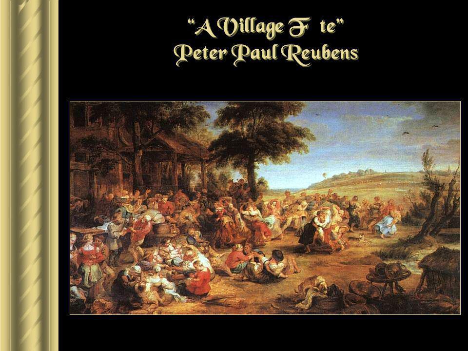 A Village Fête Peter Paul Reubens