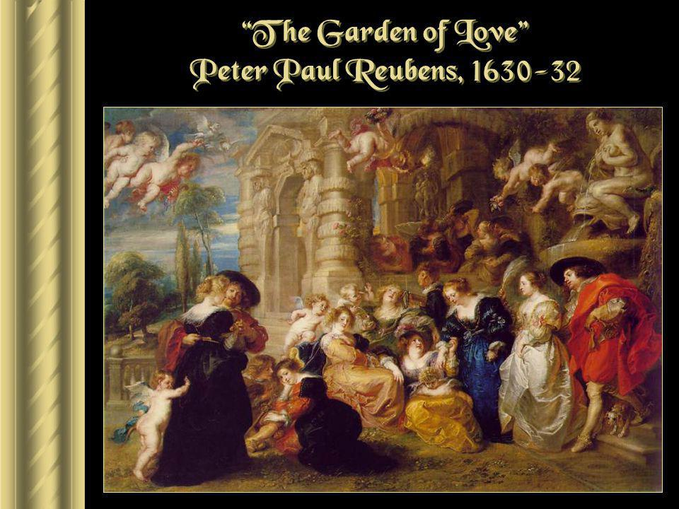 The Garden of Love Peter Paul Reubens, 1630-32