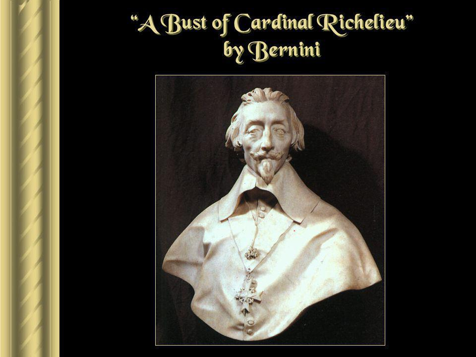 A Bust of Cardinal Richelieu by Bernini