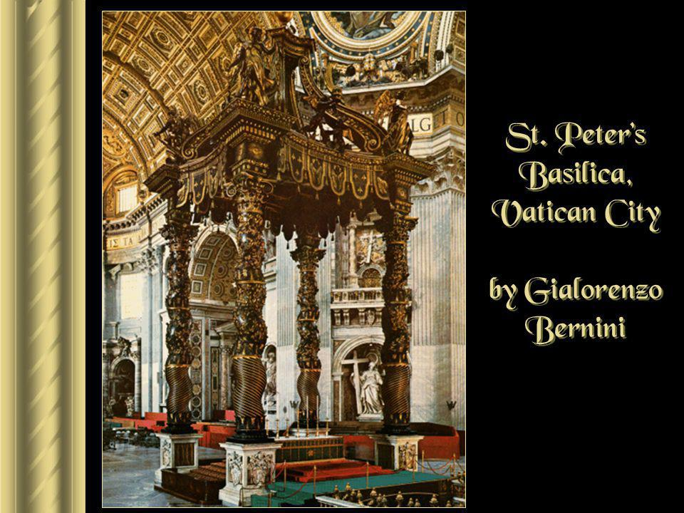 St. Peter's Basilica, Vatican City by Gialorenzo Bernini
