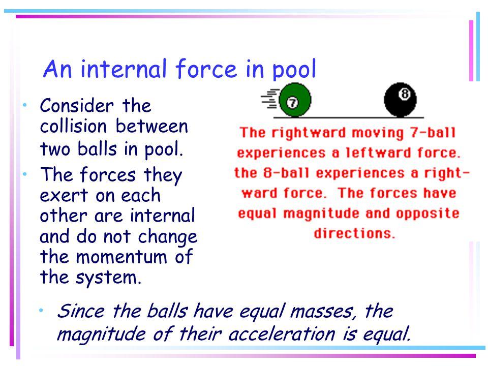 An internal force in pool