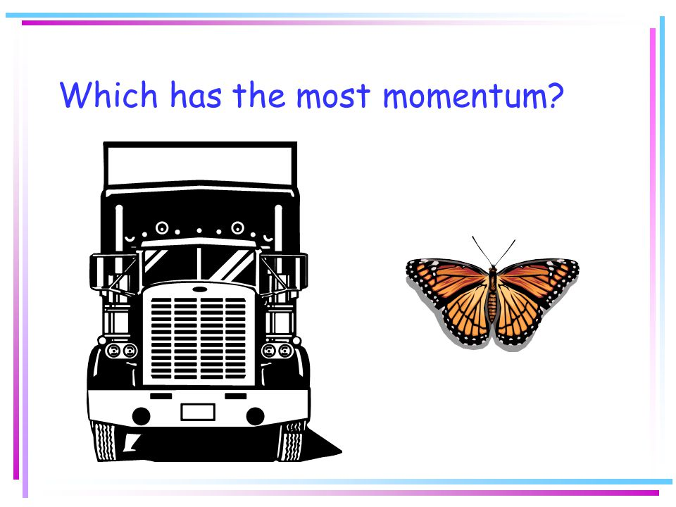 Which has the most momentum