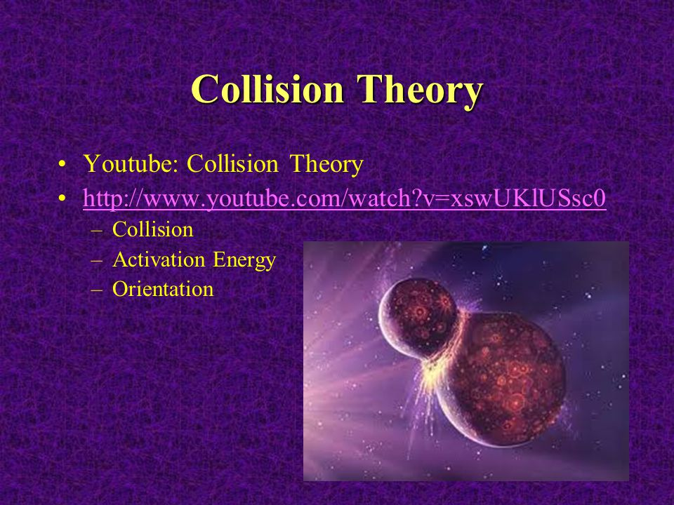 Collision Theory Youtube: Collision Theory