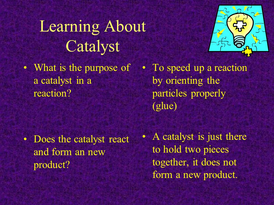 Learning About Catalyst
