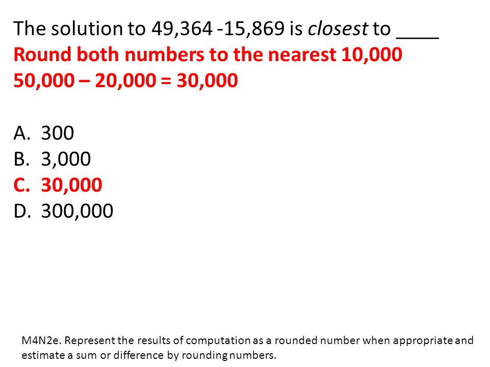 The solution to 49,364 -15,869 is closest to ____