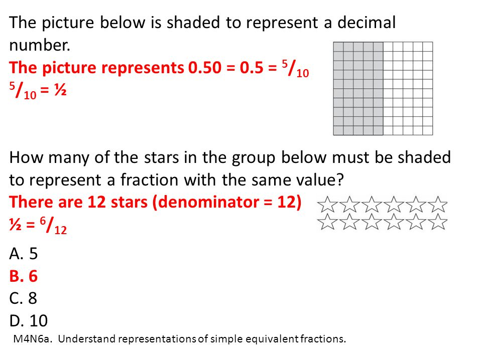 The picture below is shaded to represent a decimal number.
