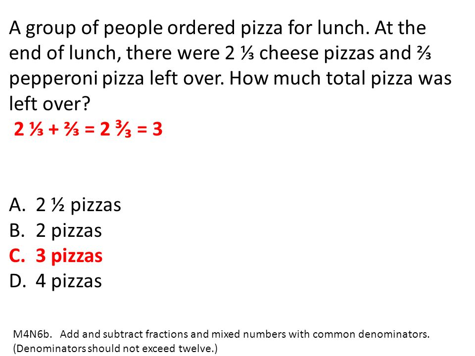 A group of people ordered pizza for lunch