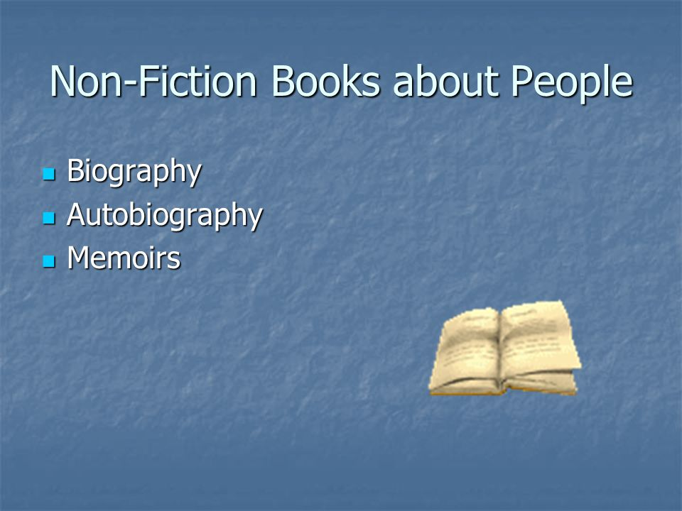 Non-Fiction Books about People