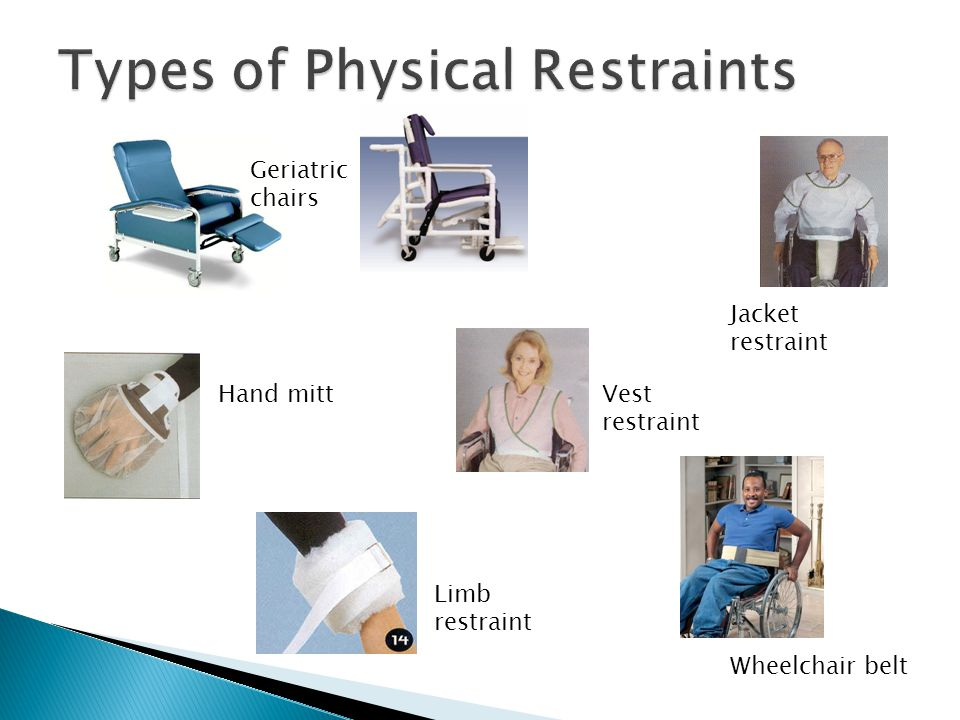 Types of Physical Restraints