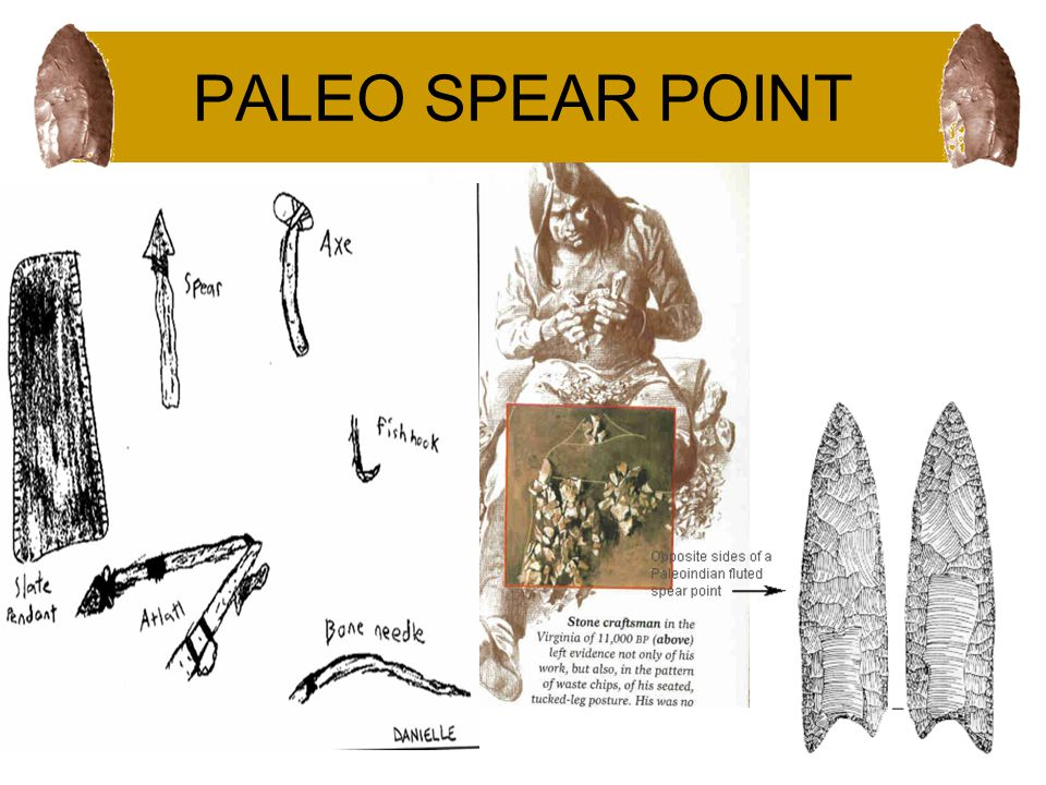 PALEO SPEAR POINT