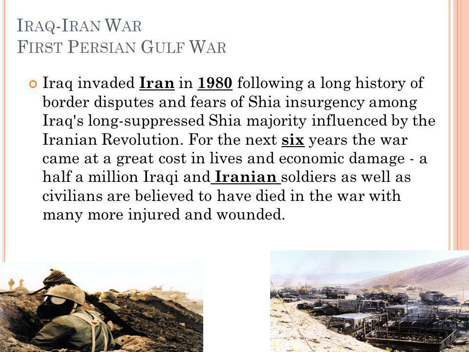 Iraq-Iran War First Persian Gulf War