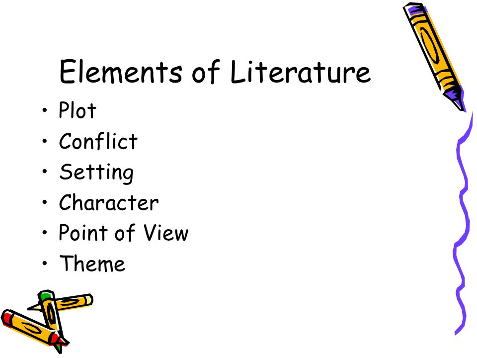 Introduction to Literature; Plot; Character