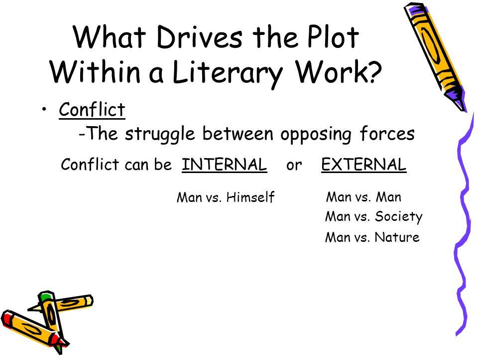 What Drives the Plot Within a Literary Work