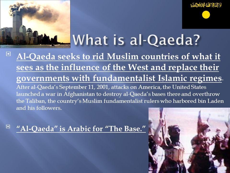 What is al-Qaeda