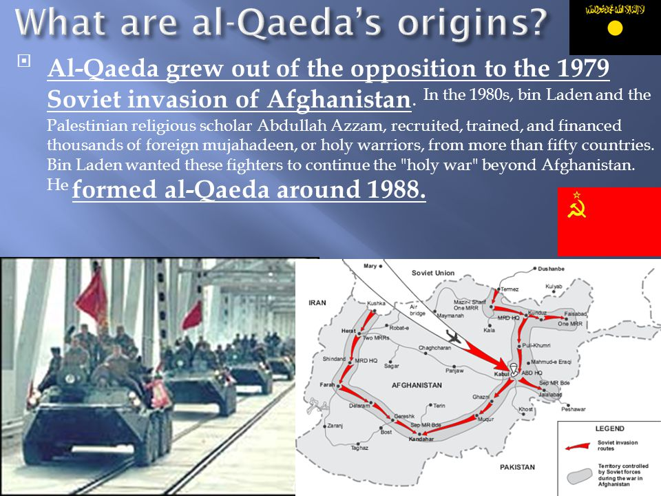 What are al-Qaeda's origins