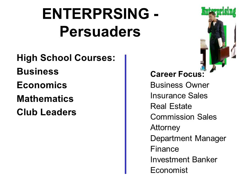 ENTERPRSING - Persuaders