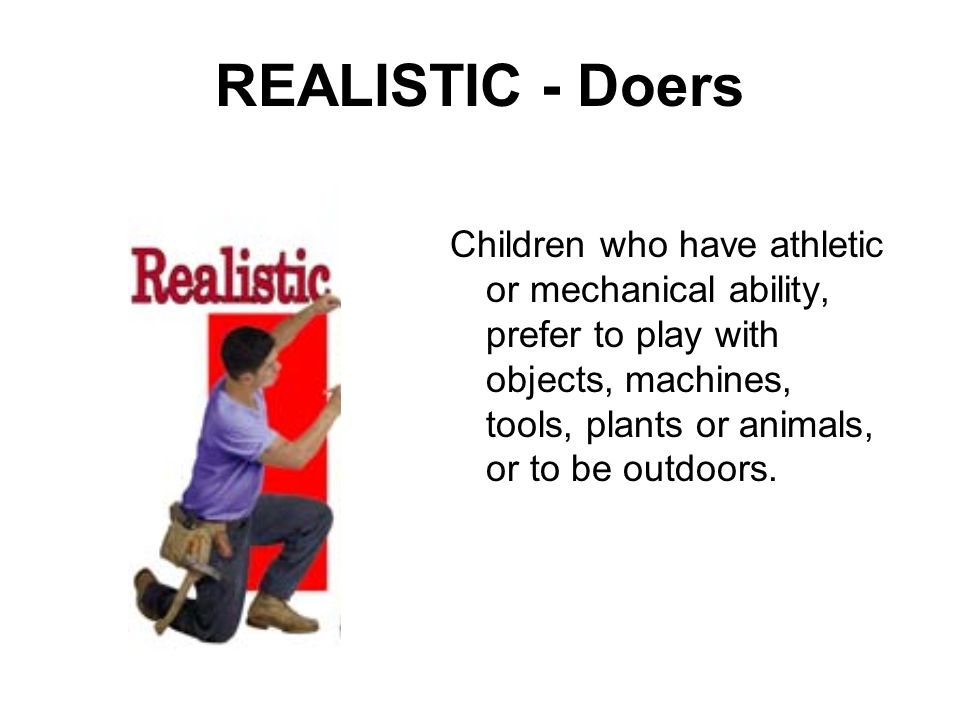 REALISTIC - Doers