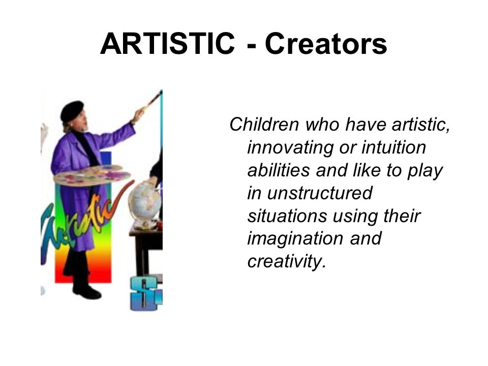ARTISTIC - Creators