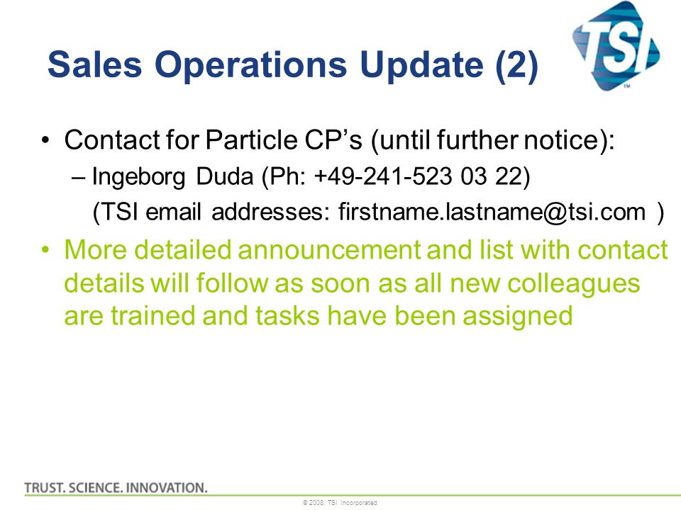Sales Operations Update (2)