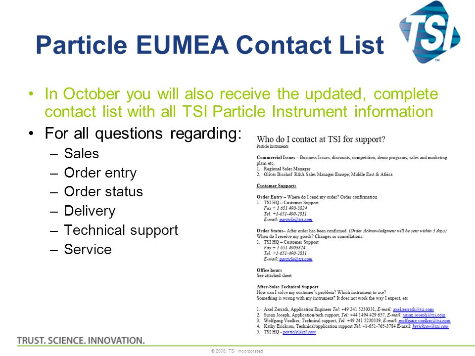 Particle EUMEA Contact List