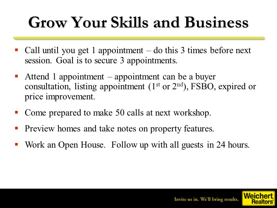 Grow Your Skills and Business