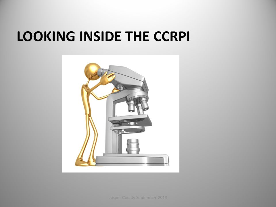 Looking Inside the CCRPI