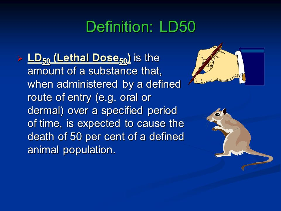 Definition: LD50