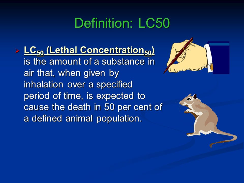 Definition: LC50