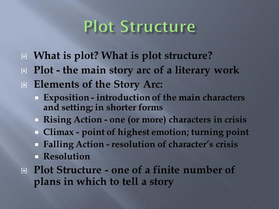 Plot Structure What is plot What is plot structure