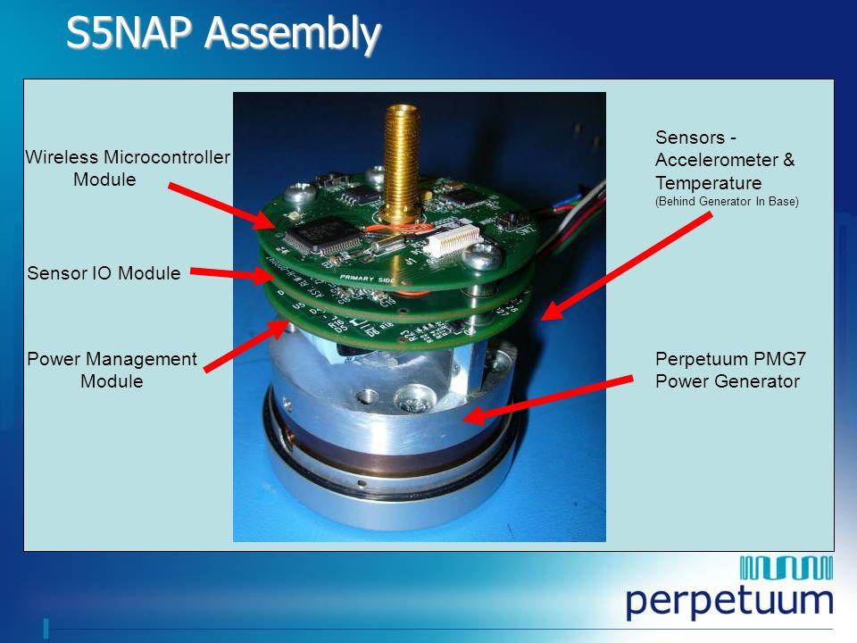 S5NAP Assembly Wireless Microcontroller Module Sensor IO Module
