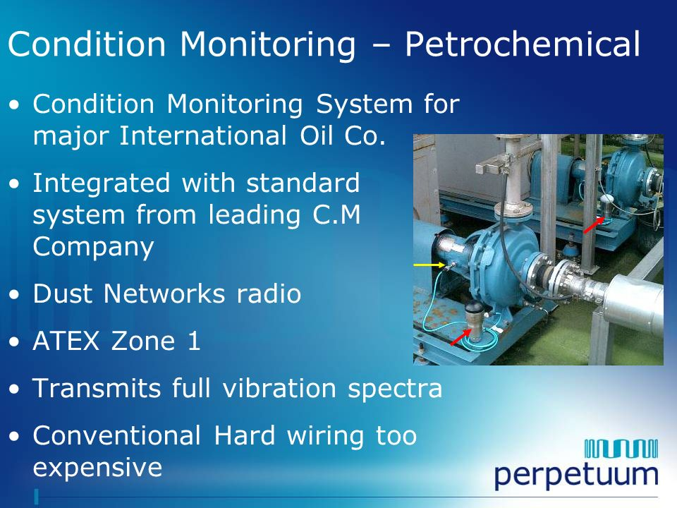 Condition Monitoring – Petrochemical