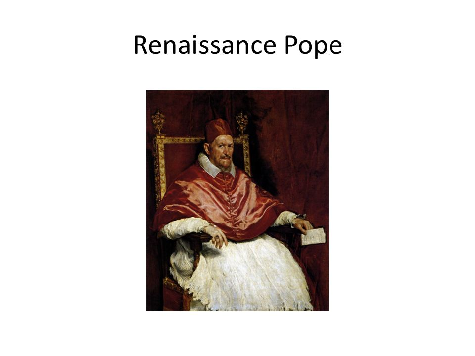 Renaissance Pope