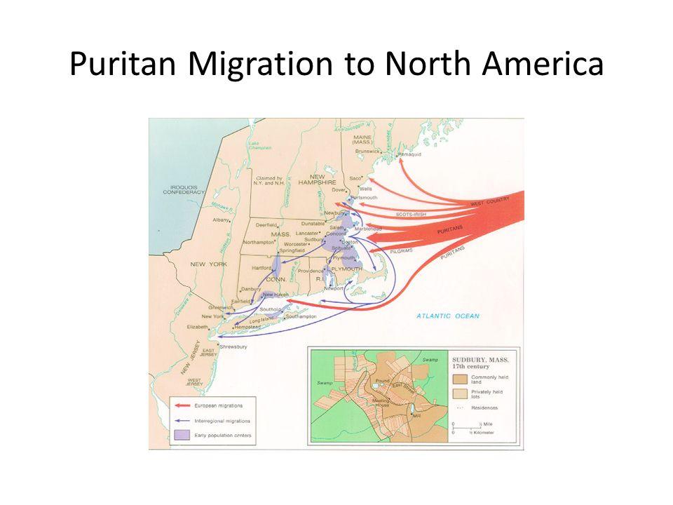 Puritan Migration to North America