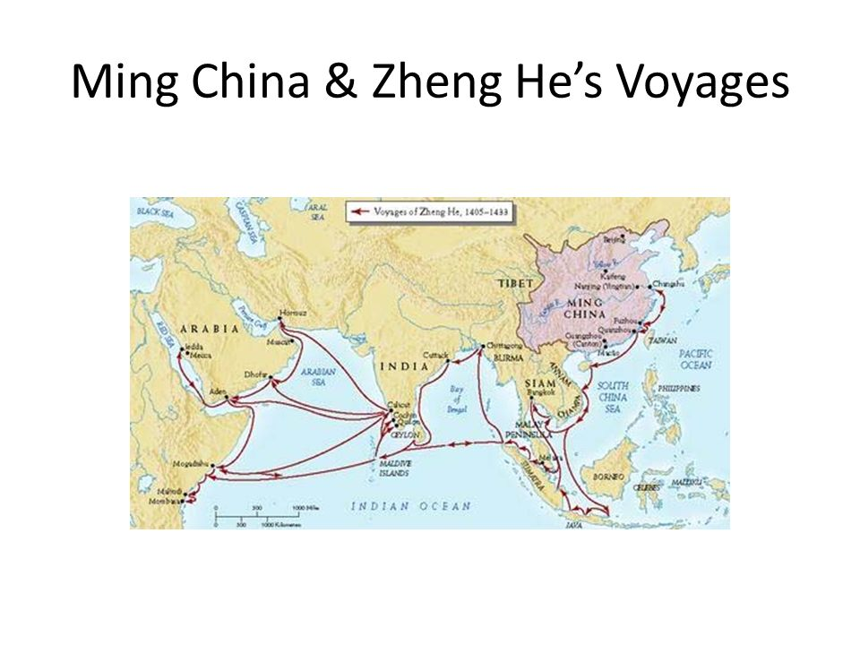 Ming China & Zheng He's Voyages