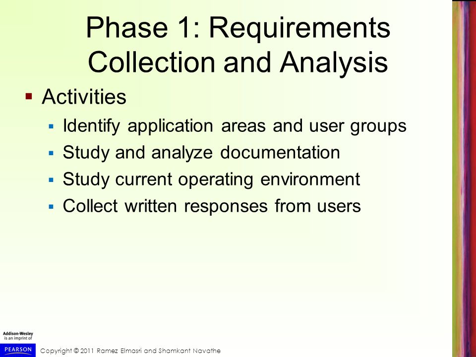 Phase 1: Requirements Collection and Analysis