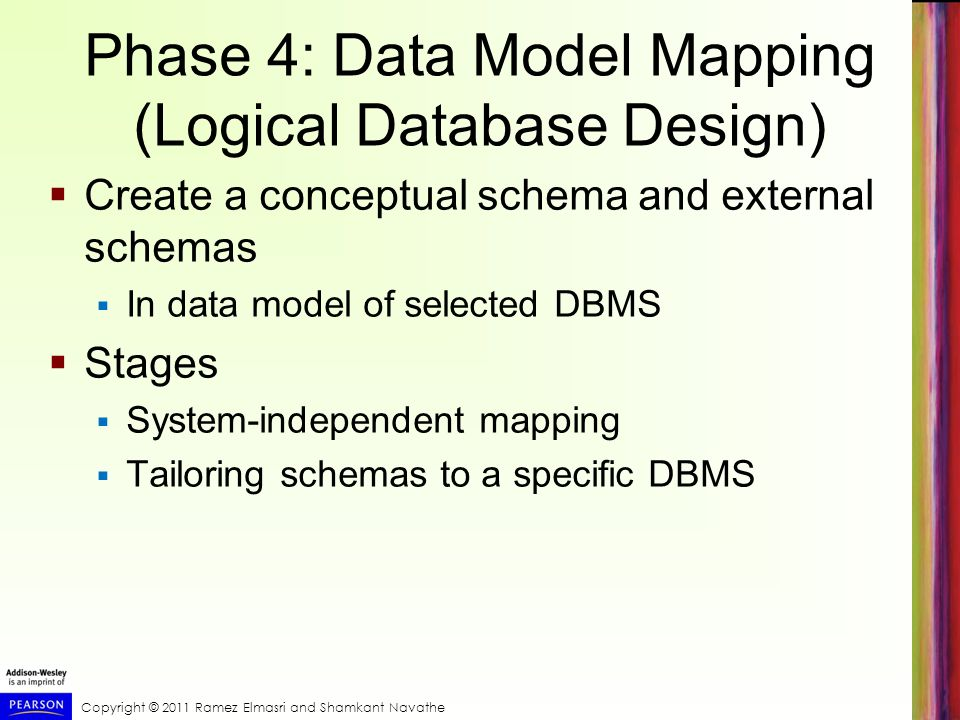 Phase 4: Data Model Mapping (Logical Database Design)
