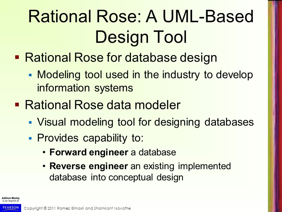 Rational Rose: A UML-Based Design Tool