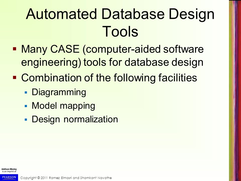 Automated Database Design Tools