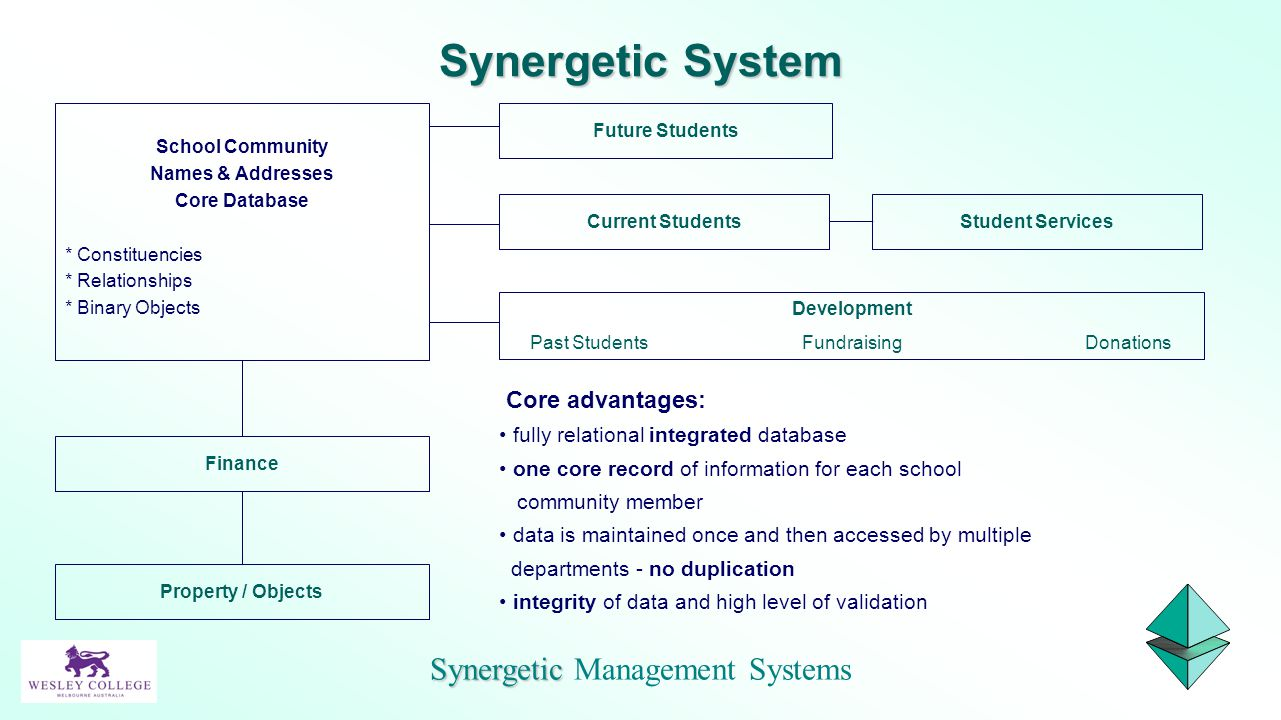 Synergetic Management Systems