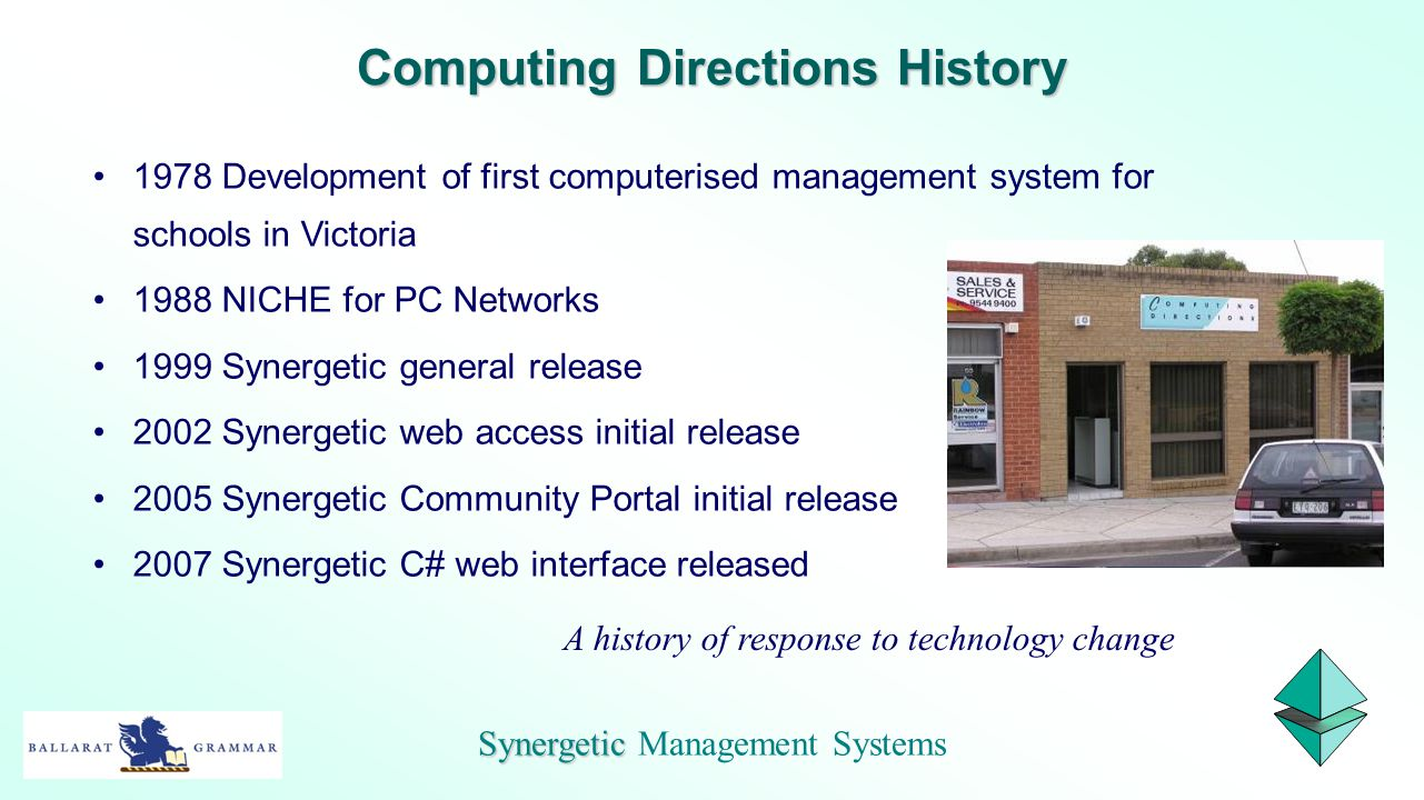 Computing Directions History