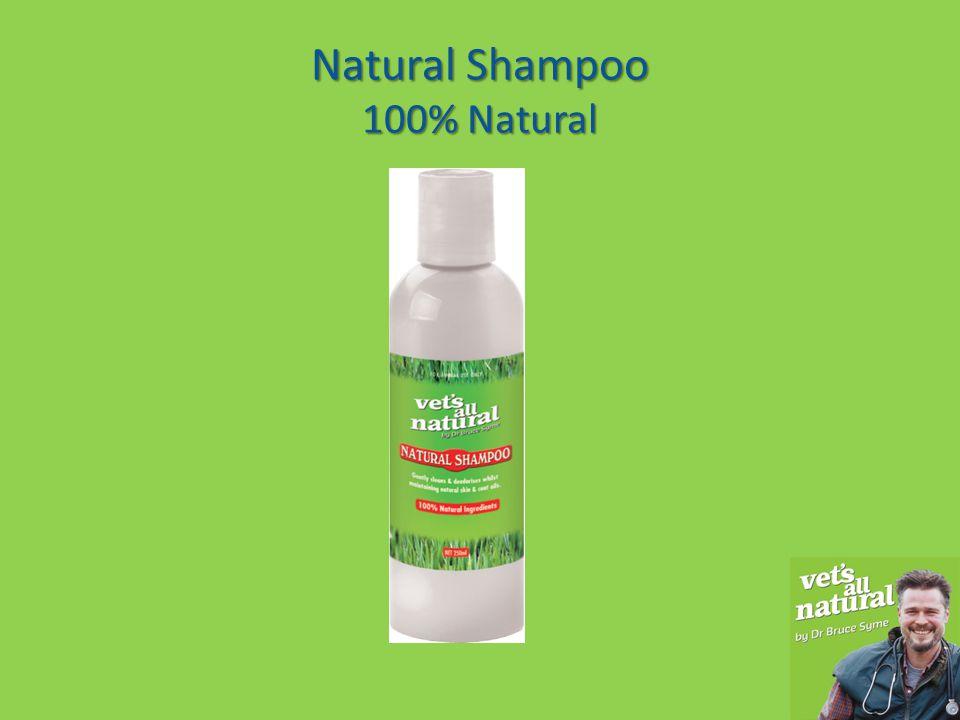 Natural Shampoo 100% Natural